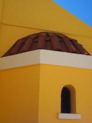Greece Yellow House