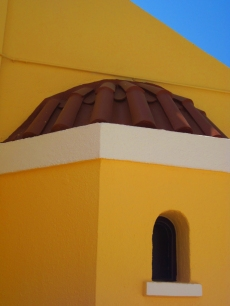 Greece Yellow House