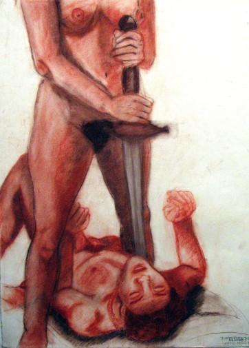 Judith Slaying Holofernes Nude