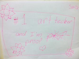 #1 Art Teacher