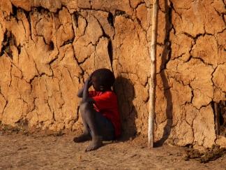 Boy In Village