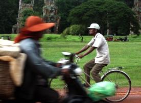 Biking Cambodia