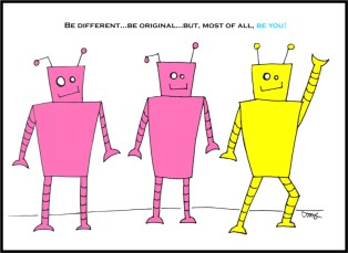 Be Different...Be Original.. Be You!