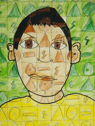 Self Portrait With Shapes