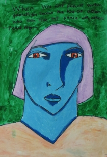 Fauvist Woman