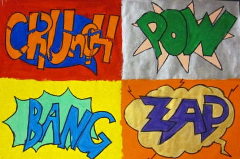 Crunch, Pow, Bang, Zap