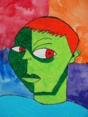Fauvist Portrait